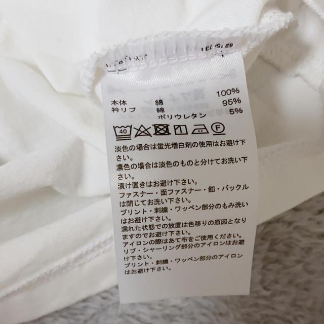 moussy(マウジー)の【moussy × adidas】ラインロンT レディースのトップス(Tシャツ(長袖/七分))の商品写真