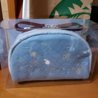 スターバックスコーヒー(Starbucks Coffee)のスターバックス 日本未発売 2020新年 ホワイトマウスポーチ(ポーチ)