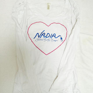 NADIA - NADIA パフスリーブ カットソー