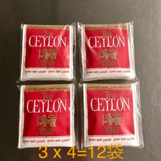 セイロンティー 紅茶 ティーバッグ 12袋