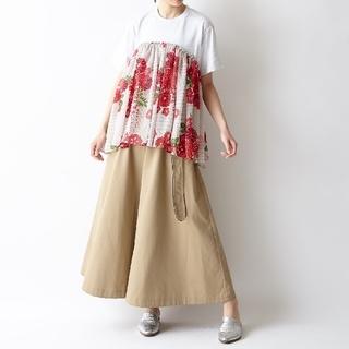 ふりふ - 【新品未使用】ふりふ 舞扇 チュール 半袖 Tシャツ