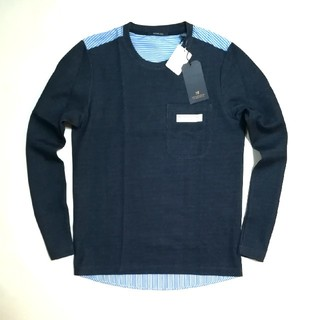 スコッチアンドソーダ(SCOTCH & SODA)の新品 SCOTCH&SODA  切り返し長袖シャツ(Tシャツ/カットソー(七分/長袖))