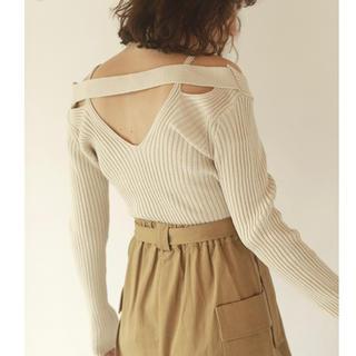 MURUA - AMAIL アマイル Great popurar knit アイボリー