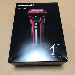 パナソニック(Panasonic)のPanasonic ES-CLV5D-R ラムダッシュ(メンズシェーバー)