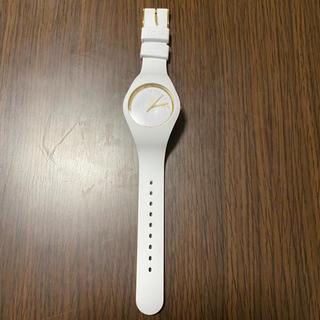 アイスウォッチ(ice watch)のアイスウォッチ 白(腕時計)