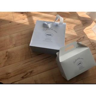 ジェラートピケ(gelato pique)のジェラートピケ ショップ袋 ボックス セット(ショップ袋)