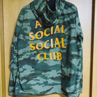 Supreme - Anti Social Social Club Anorak Jacket カモ