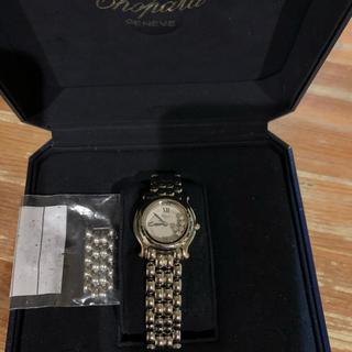 ショパール(Chopard)のショパールハッピースポーツ5pダイアモンド レディス 正規品(腕時計)