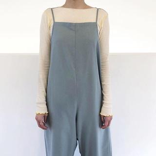 EDIT.FOR LULU - baserange Vein LongSleeve Cotton-Rib