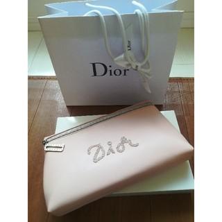 Dior - 新品未使用 Dior ポーチ ノベルティ 紙袋