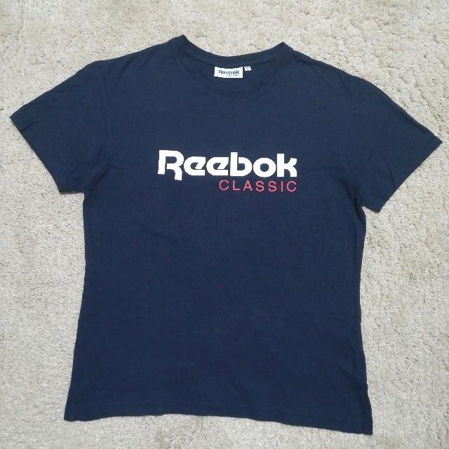 Reebok(リーボック)の【USED】Reebok mens tee ロゴティシャツ  メンズのトップス(Tシャツ/カットソー(半袖/袖なし))の商品写真