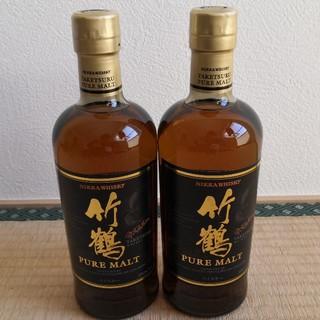 ニッカウイスキー(ニッカウヰスキー)の竹鶴ピュアモルト  700ml  2本   (ウイスキー)