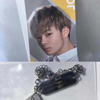 JO1 ファンミーティング 鶴房汐恩 ブレスレット メッセージカード セット