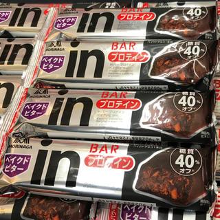 モリナガセイカ(森永製菓)の【24本】森永 糖質40%オフ タンパク質10g  プロテイン ベイクドビター(プロテイン)