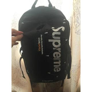 Supreme - Supreme 17ss Backpack ブラック