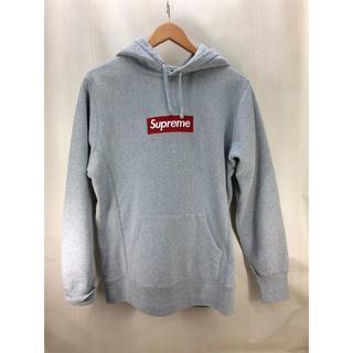 Supreme - Supreme Box Logo Hooded Sweatshirt グレー