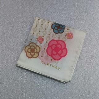 CLATHAS - クレイサス☆大判ハンカチーフ58×58