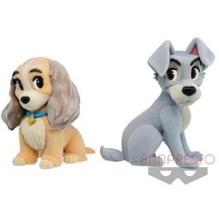 Disney - ディズニー fluffy puffy レディ&トランプ わんわん物語