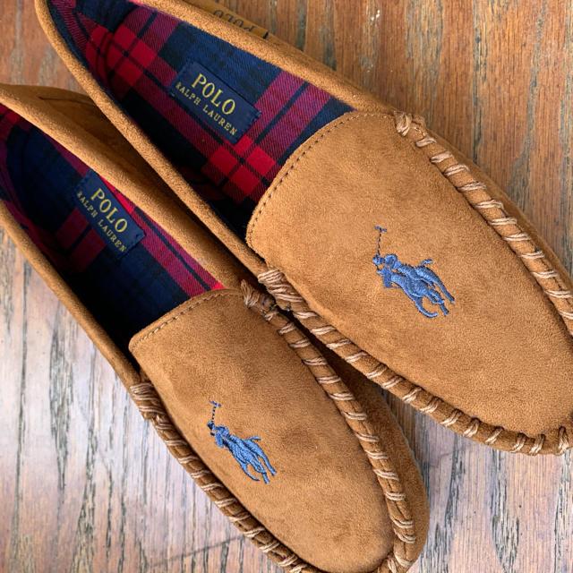 POLO RALPH LAUREN(ポロラルフローレン)の【POLO RALPH LAUREN】モカシン メンズの靴/シューズ(スリッポン/モカシン)の商品写真