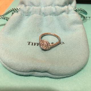 Tiffany & Co. - ティファニー  ソレストダイヤリング 46