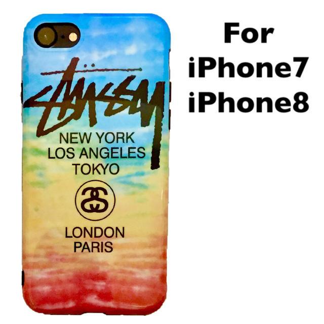 STUSSY(ステューシー)のiPhone7 iPhone8 ケース STUSSY ステューシー アウトレット スマホ/家電/カメラのスマホアクセサリー(iPhoneケース)の商品写真