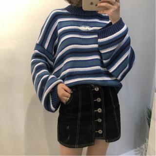スタイルナンダ(STYLENANDA)の韓国ファッション♡大人気ボーダーニット♡(ニット/セーター)
