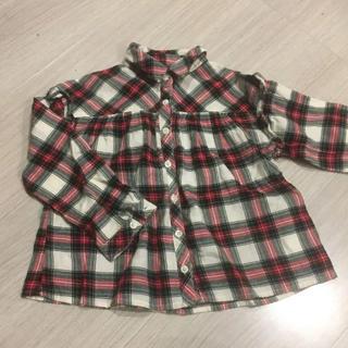 babyGAP - ネルシャツ 110 ベビーギャップ