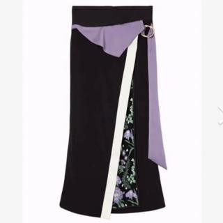 mame - mame 2019SS ロングスカート 刺繍/フラワー  サイズ2