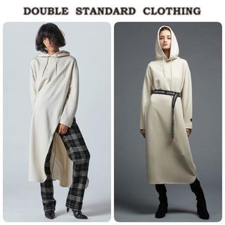 ダブルスタンダードクロージング(DOUBLE STANDARD CLOTHING)の20SS新品 ダブルスタンダード ワンピース 日本製 定価25300円(ロングワンピース/マキシワンピース)