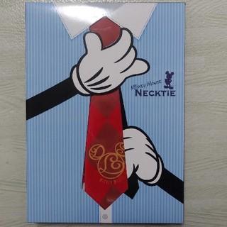 ディズニー(Disney)のディズニー ミッキー ネクタイ 新品 Disney MICKEY MOUSE(キャラクターグッズ)