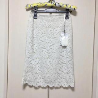 ジュエルチェンジズ(Jewel Changes)の新品ジュエルチェンジズ レーススカート(ひざ丈スカート)