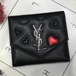イヴサンローランYSL 3つ折り財布 レディース