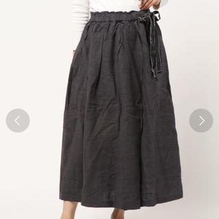 サマンサモスモス(SM2)のSM2 麻ウール起毛テレデランスカート(ロングスカート)