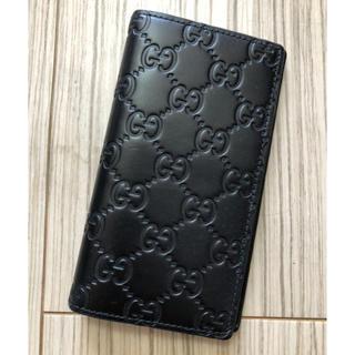 Gucci - グッチ GUCCI シマ モバイルケース