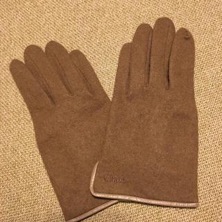 Chloe カシミヤ 手袋