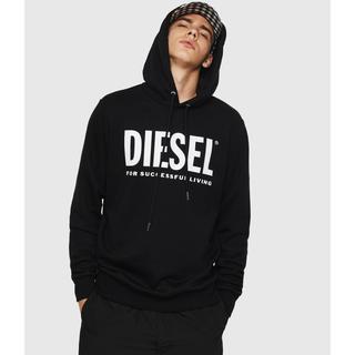 DIESEL - 【新品、未使用、タグ付き】ディーゼル ロゴ パーカー フーディ
