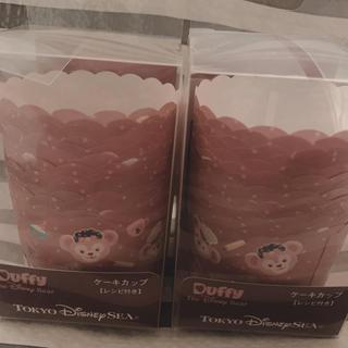 ダッフィー(ダッフィー)のダッフィー&シェリーメイ ケーキカップセット 2014(キャラクターグッズ)