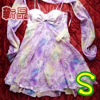 デイジーストア(dazzy store)の新品*ドレス&ショールセット(ミディアムドレス)