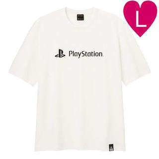 GU - GU Tシャツ コットンビッグT playstation L