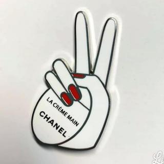 シャネル(CHANEL)のシャネル ピンバッチ ブローチ 非売品(バッジ/ピンバッジ)