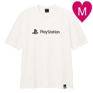GU - GU Tシャツ コットンビッグT playstation M