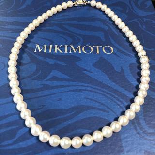 MIKIMOTO - ミキモトパールネックレス