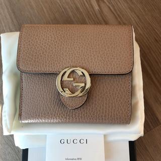 Gucci - Gucci 2つ折り財布 新品
