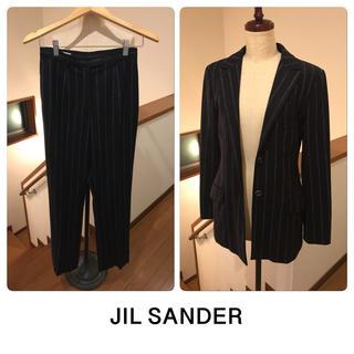 ジルサンダー(Jil Sander)の美品 JIL SANDER ジルサンダー パンツスーツ (スーツ)