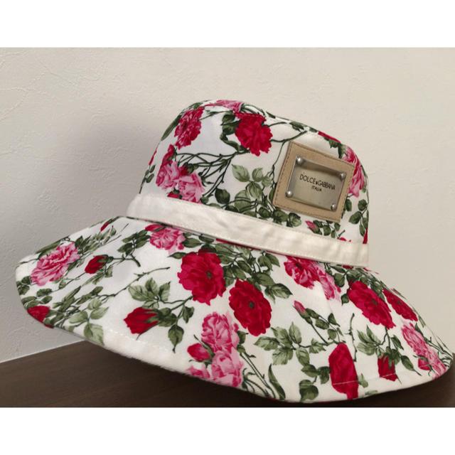 DOLCE&GABBANA(ドルチェアンドガッバーナ)のDOLCE &GABBANA レディース ハット レディースの帽子(ハット)の商品写真