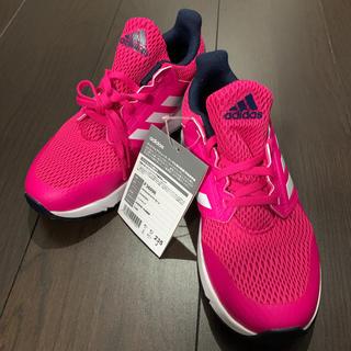 adidas - adidasアディダス スニーカー 靴 ランニングシューズ ピンク23.5㎝