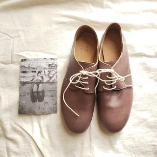 ネストローブ(nest Robe)のque shoes derby Lサイズ  (ローファー/革靴)