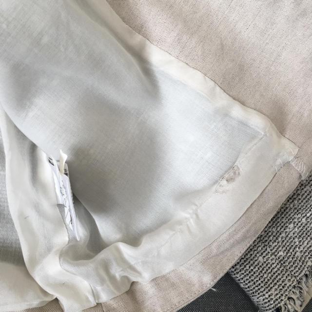 IENA  ツイードジャケット ノーカラージャケット アイボリー メンズのジャケット/アウター(ノーカラージャケット)の商品写真