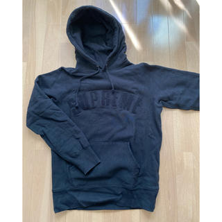 Supreme - 17SS Supreme Chenlile Arc Logo Hooded