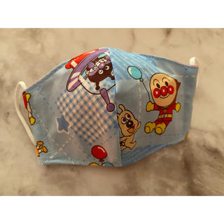 handmade♡立体マスク♡幼児用♡アンパンマン1枚♡